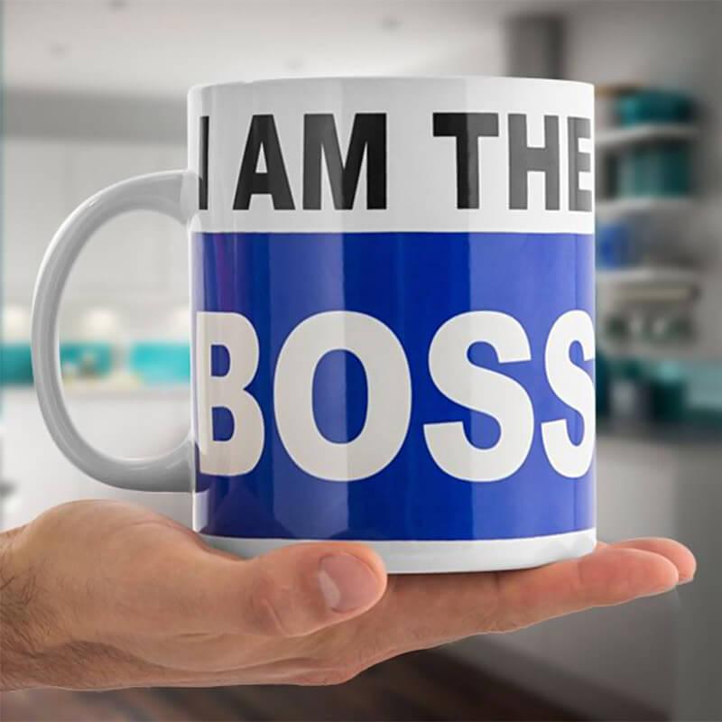 XL Skodelica I Am The Boss