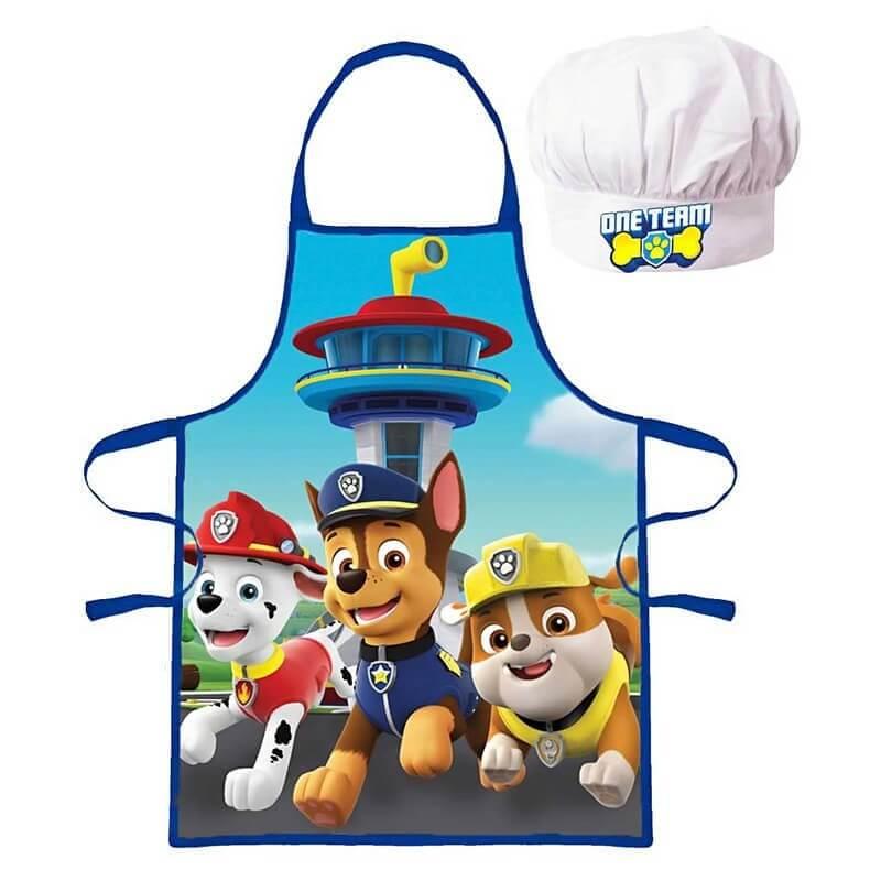 Predpasnik in kuharska kapa Tačke na patrulji za fante
