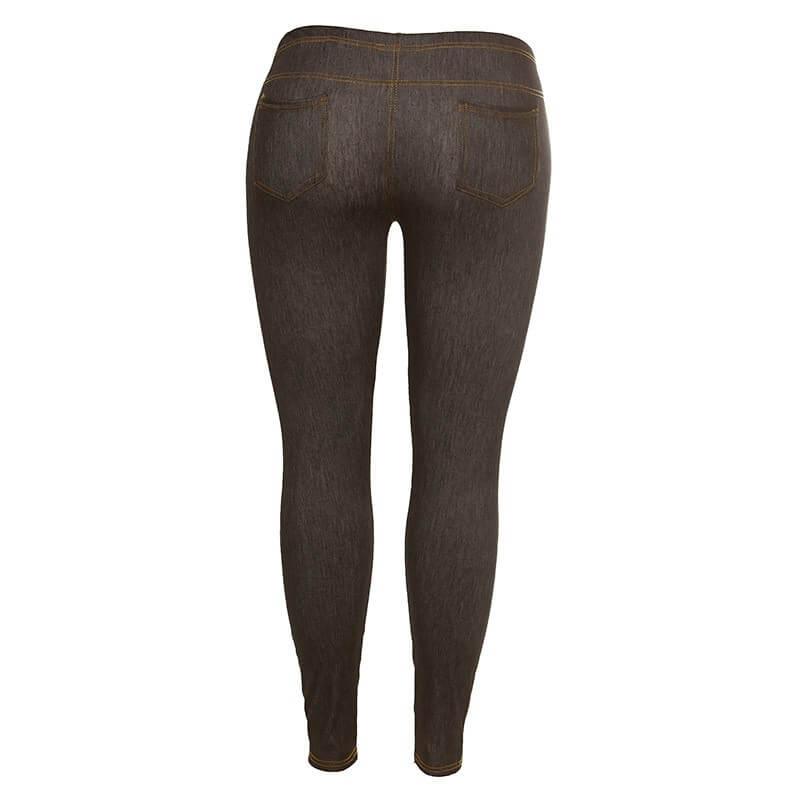 Jeans legice za ženske z oblinami