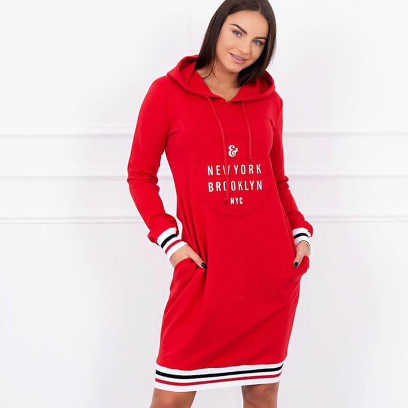 Obleka S Kapuco Brooklyn