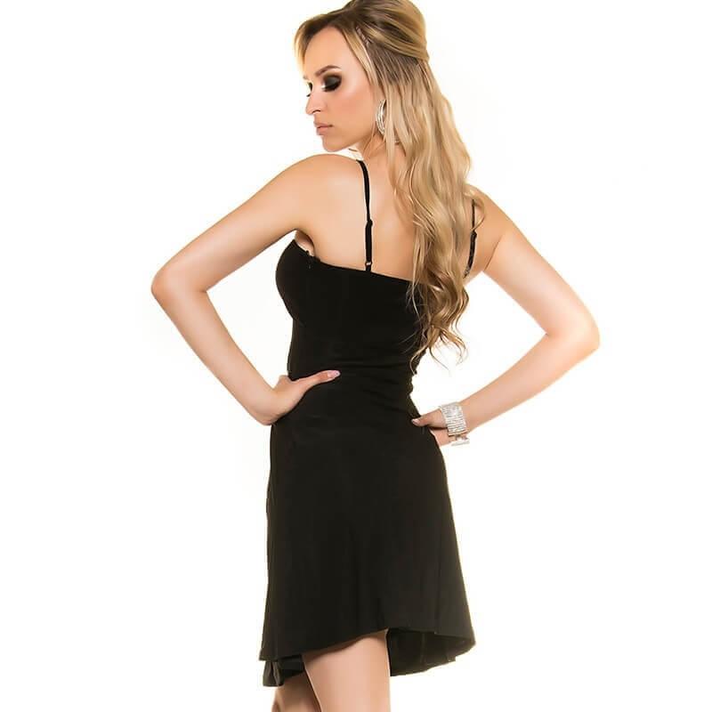 Poletna oblekca Doll v črni barvi